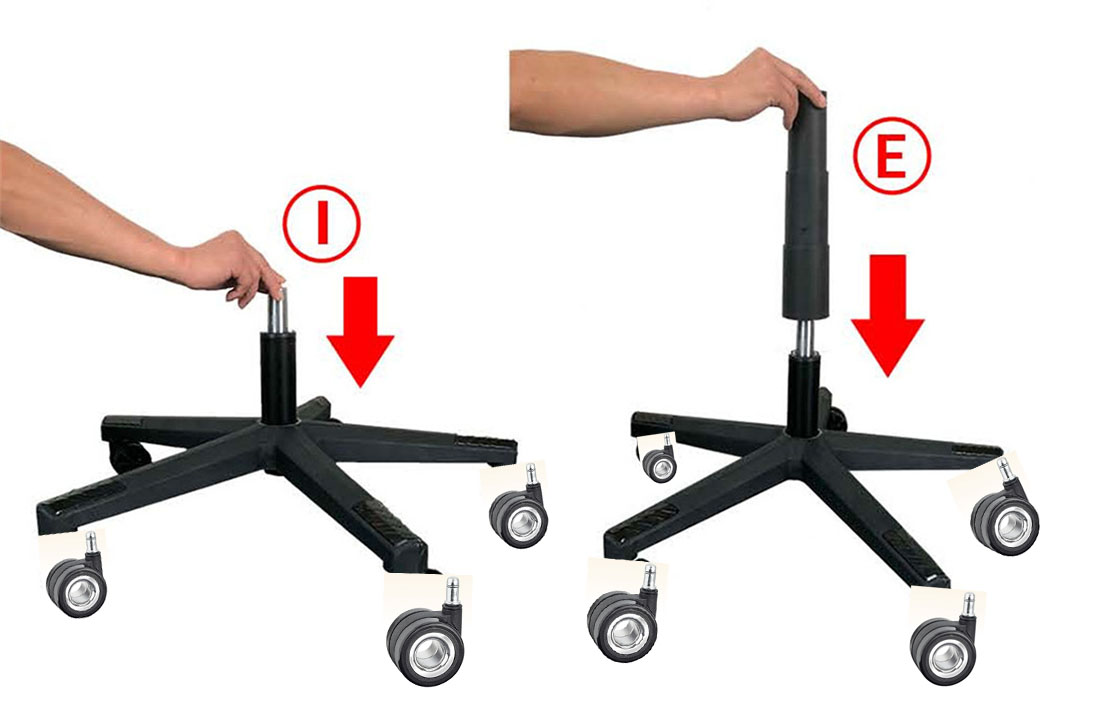 custom high quality office gaming chair wheels-chair accessories