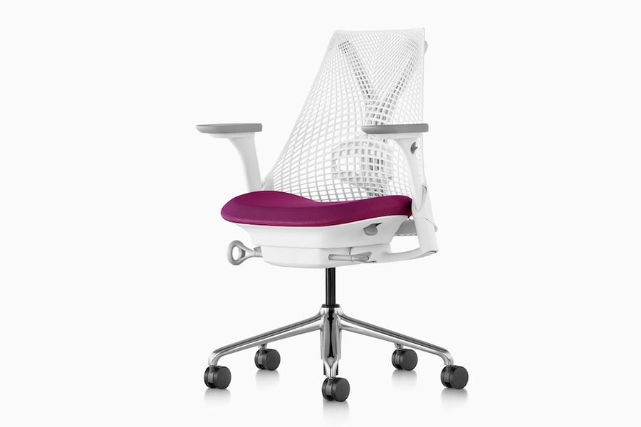 Herman Miller Sayl with aluminum alloy chair base