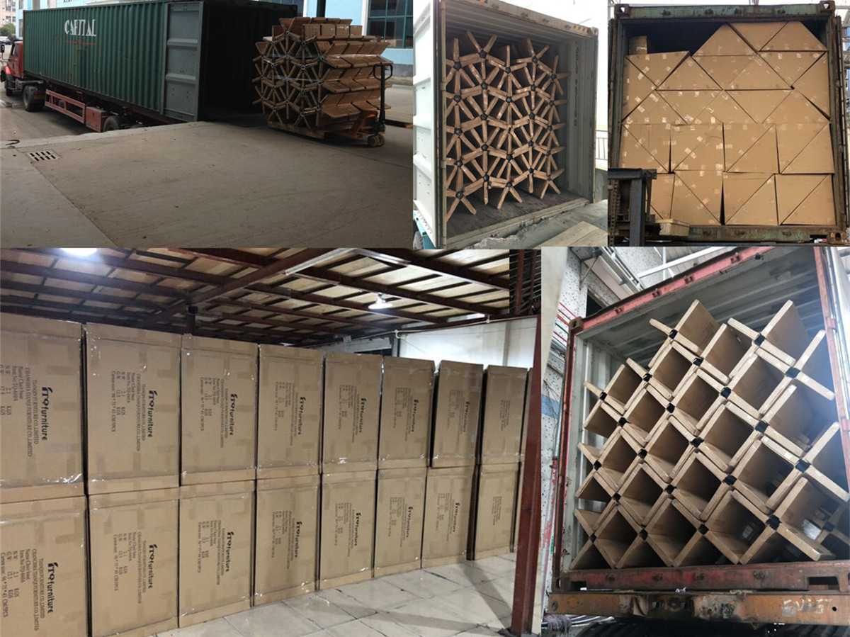chair base made in china manufacturer loading container