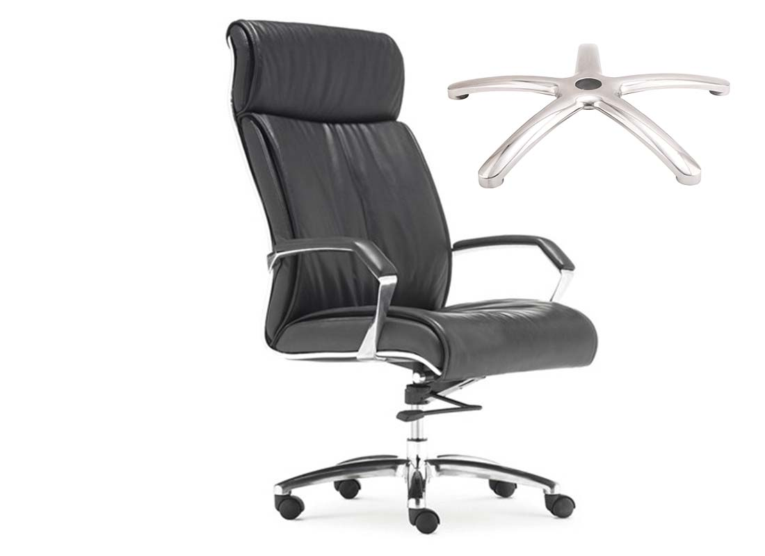 where to purchase office chrome swivel chair base components