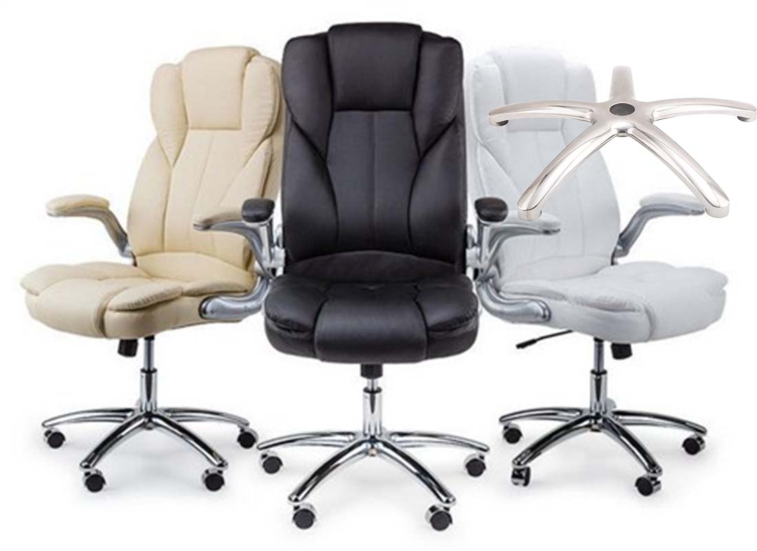 where to purchase office revolving chair steel base components