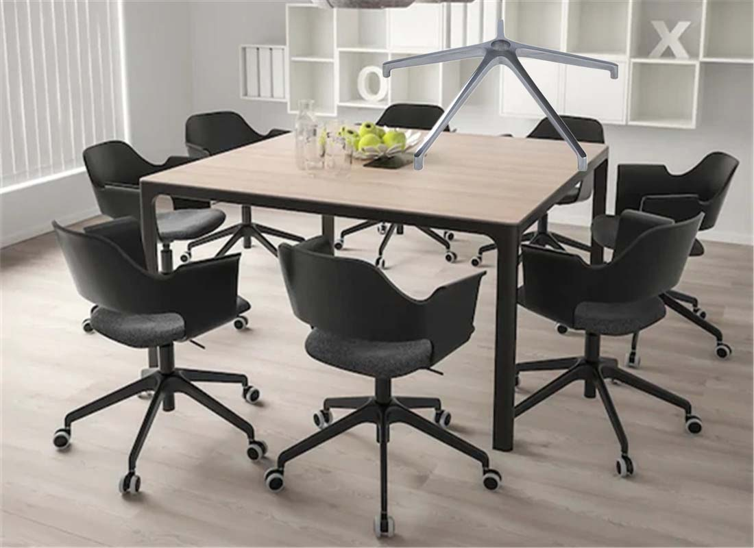 where to purchase office base of a chair components