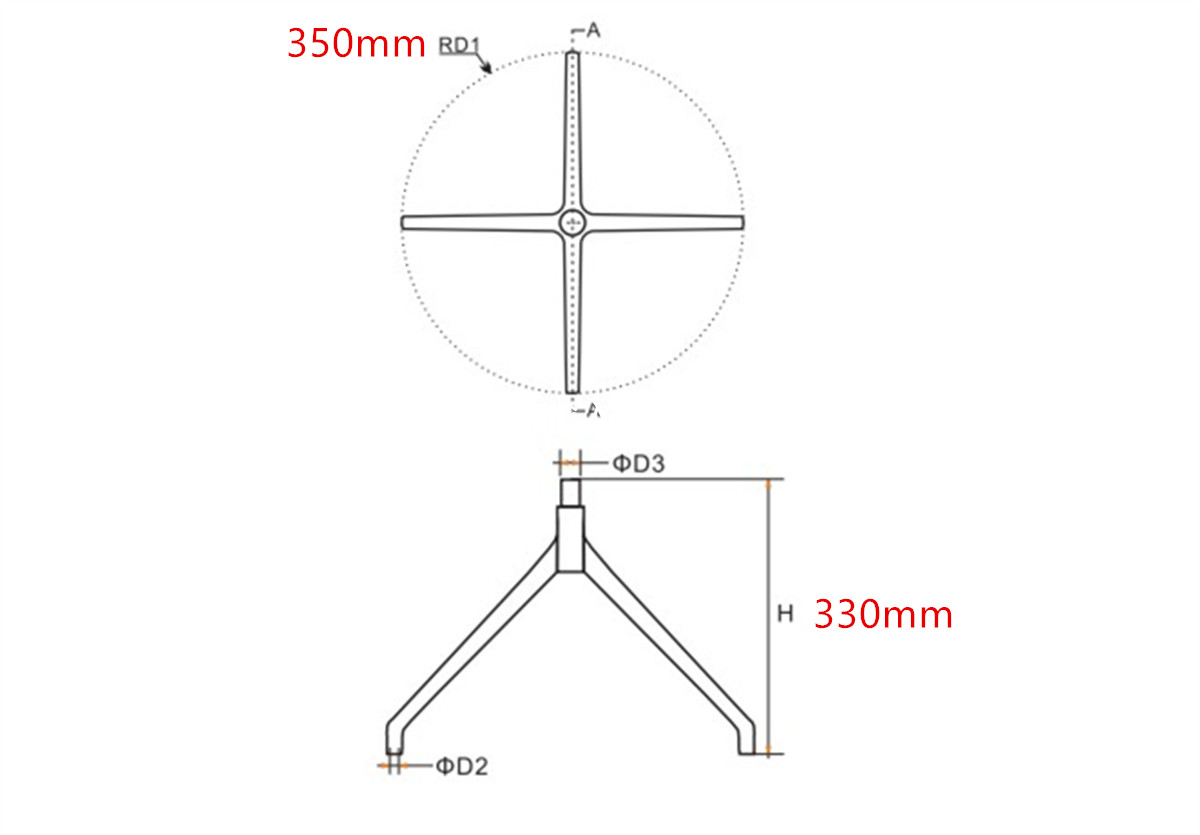 7-lounge-steel-chair-base-parts-manufacturer-in-China-dimension
