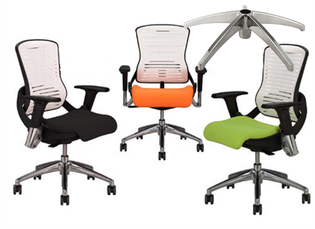 where to purchase office steel chair base components