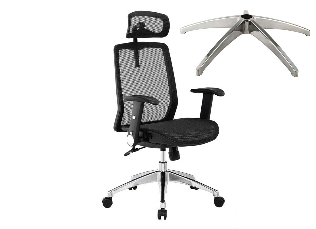 office chair steel base parts manufacturer in China