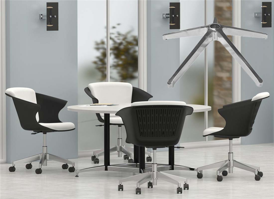 lounge chair fixed base replacement parts factory in China