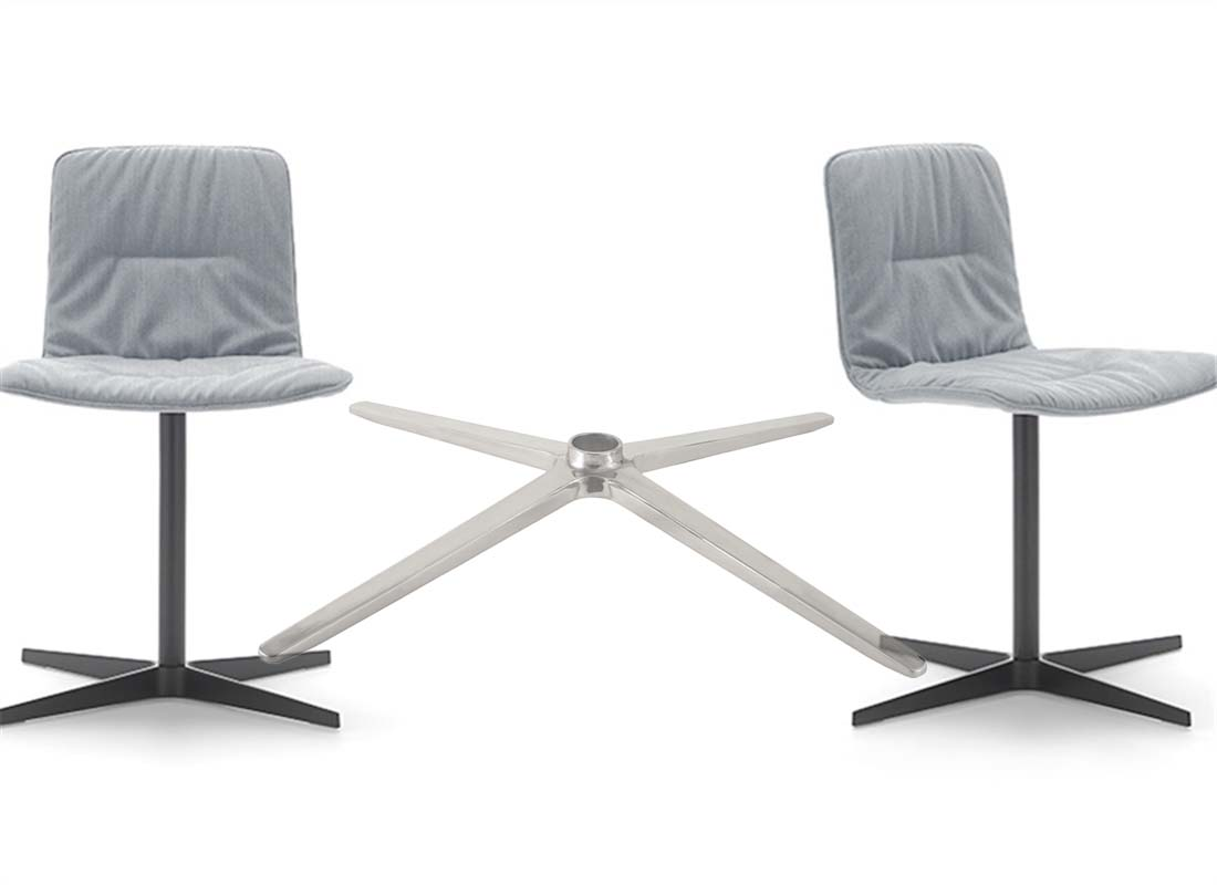 where to purchase lounge chrome chair base components