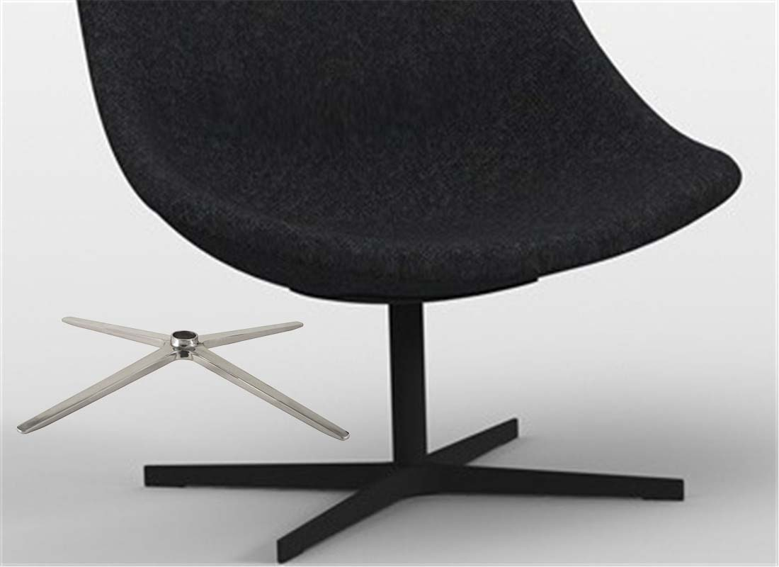 lounge chair base without wheels parts manufacturer in China
