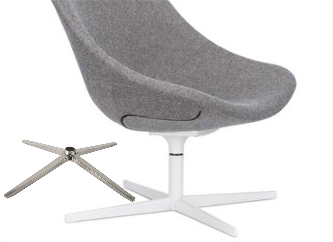 where to purchase lounge chair base without wheels components
