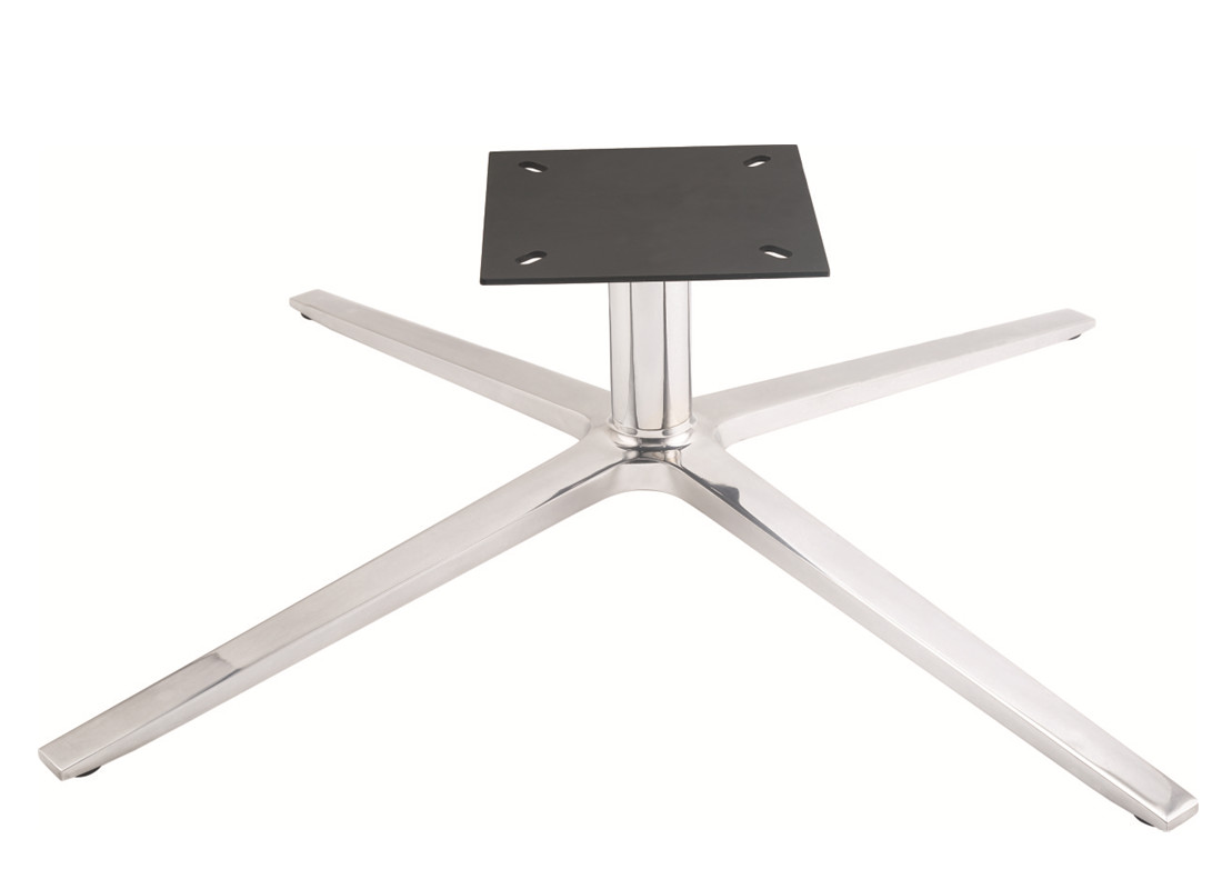 lounge chair metal base plate replacement parts factory in China