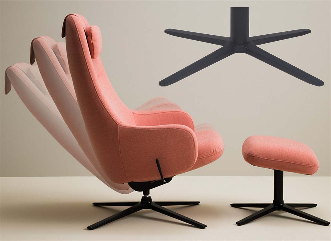 where to wholesale lounge 4 star base chair spare parts