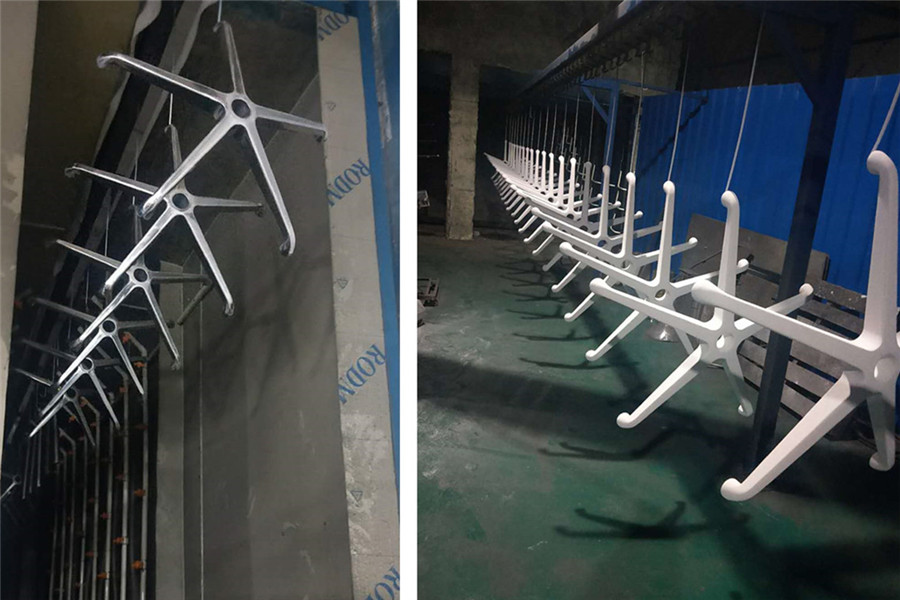 office chair base revolving parts manufacturer in China