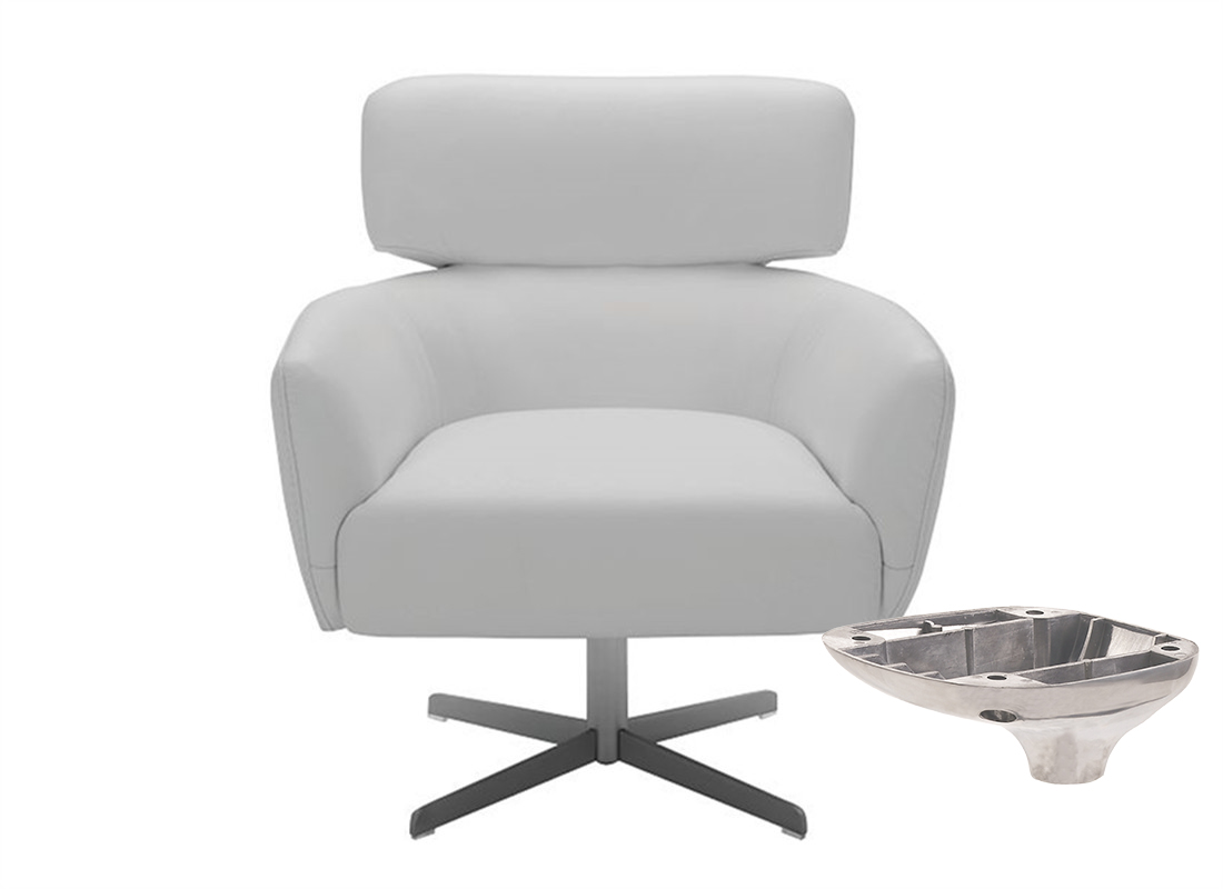 office chair mechanism revolving parts manufacturer in China