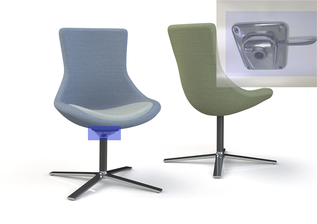 office revolving chair mechanism parts manufacturer in China