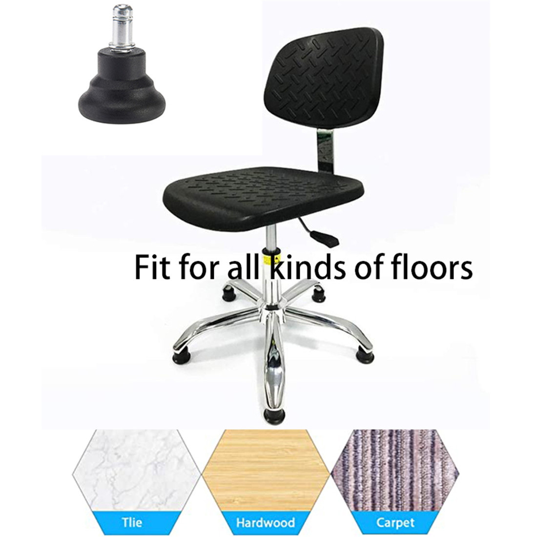 office chair with glides accessories vendors in China