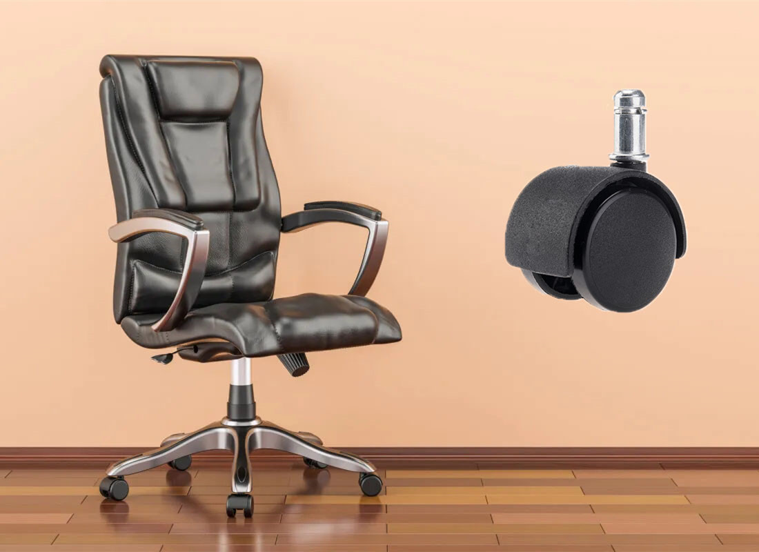 office best casters for hardwood floors chair parts manufacturer in China
