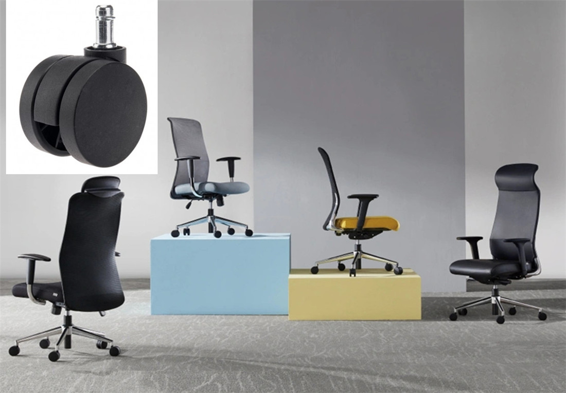 sgs certified oem products best office chair casters fittings