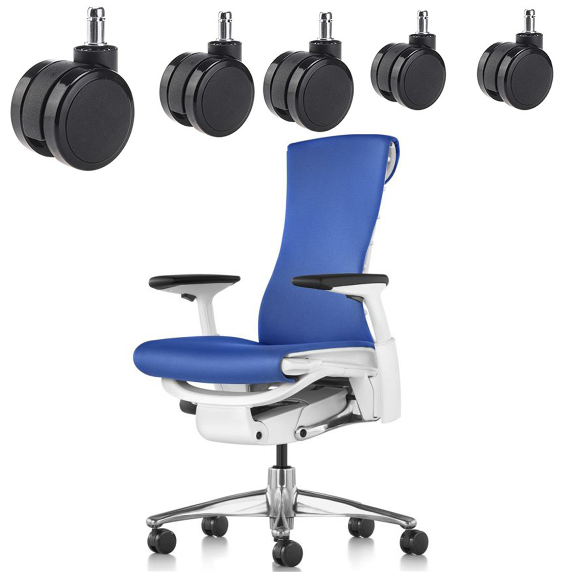 where can i bulk buy bifma certified office chair caster wheels set of 5 components