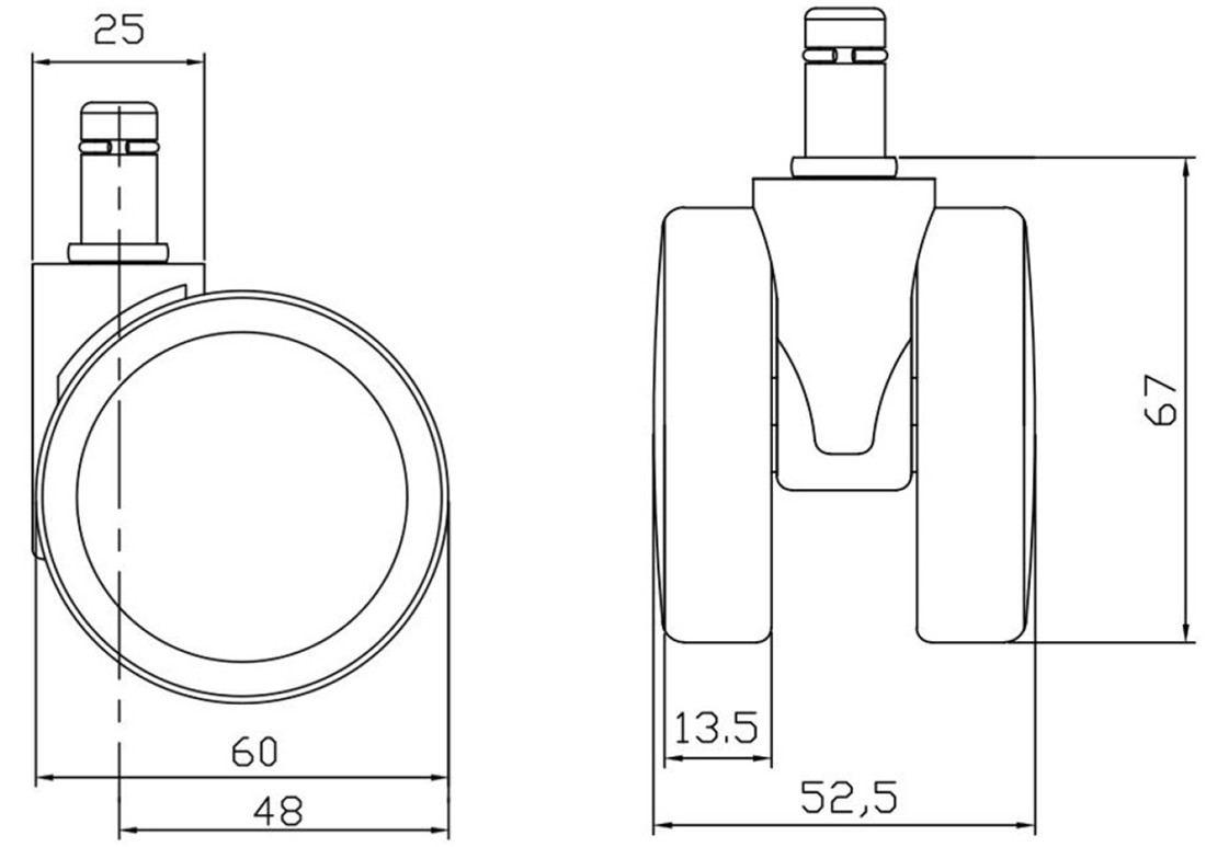 where wholesalers buy bifma standards 60mm castor wheels spare parts