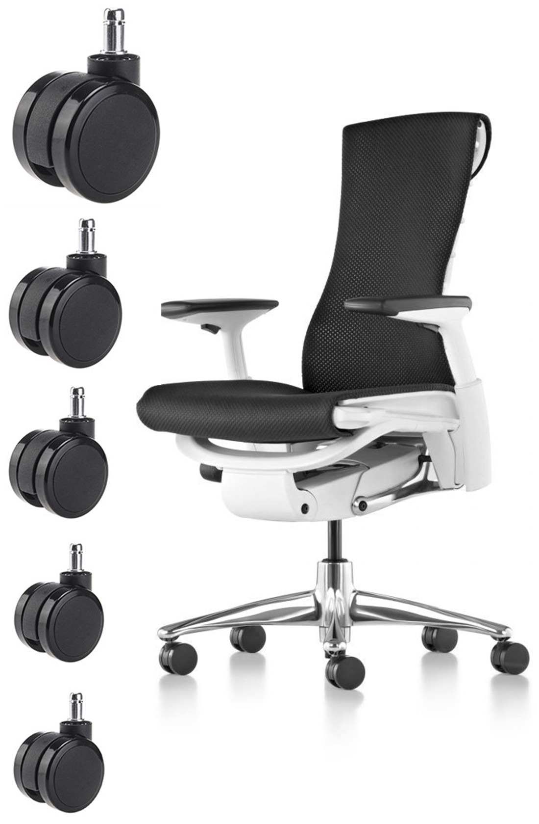 sgs certified oem products office chair casters fittings