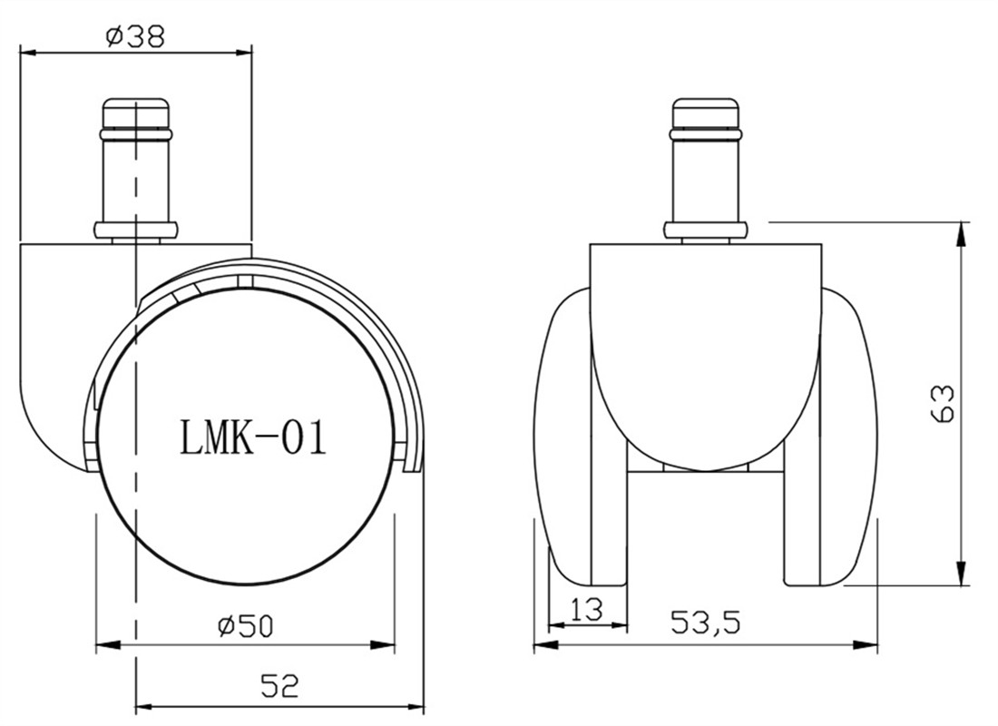where wholesalers buy bifma standards heavy duty caster wheels with brakes spare parts