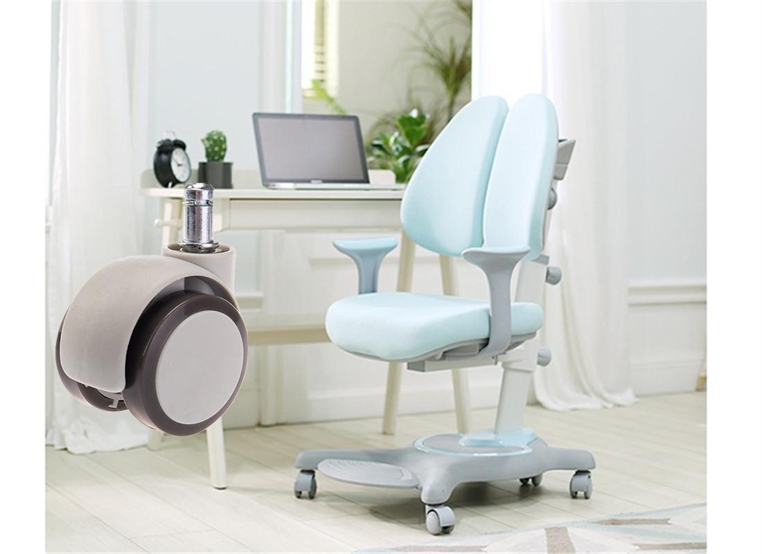 sgs certified oem products office chair wheel brake fittings