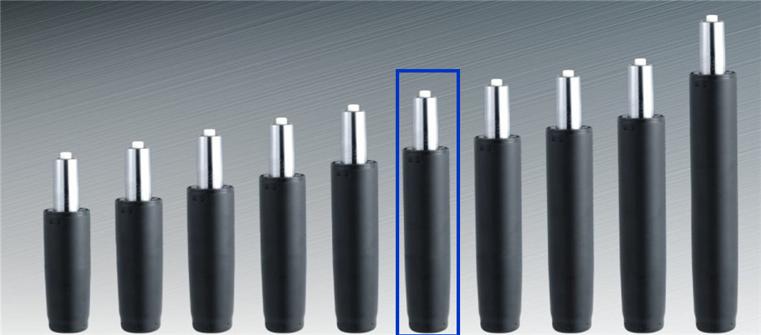 gas lift cylinder revolving parts manufacturer in China
