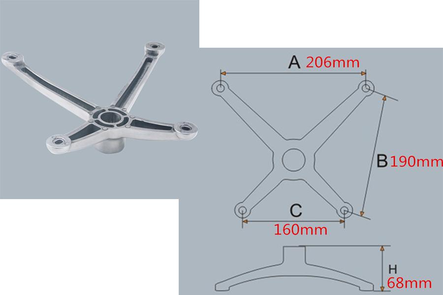 chair mechanism measurements