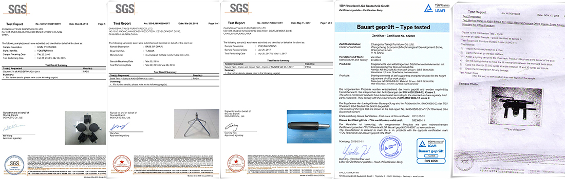 sgs certified oem products chair components suppliers fittings