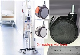 How to choose heavy duty medical casters with locks