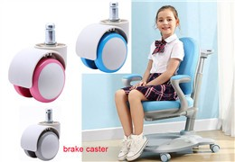 2 inch swivel casters with brakes for kids chair table set