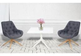 revolving chair base with wheels VS revolving chair base without wheels