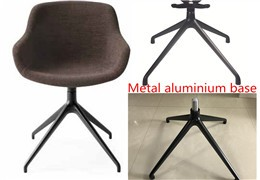 Why does upholstered chair always match with four star base?